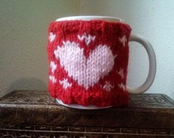 Be Mine Coffee Cozy