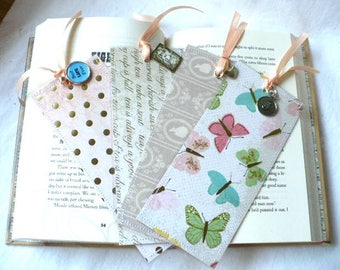 Personalized Gift, Bookmarks, Teacher Gifts, Pride and Prejudice, Gift for Teacher, Bookmark, Jane Austen, Butterfly Bookmark, Inspirational