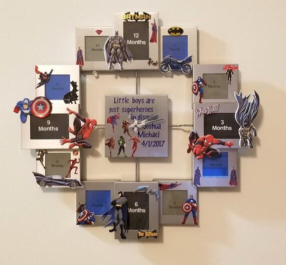 First Year Collage Clock - Cinderella