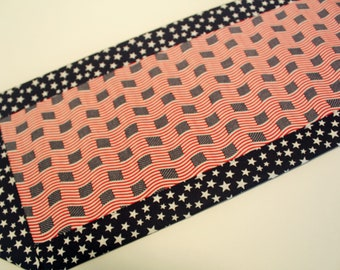 Stars and Stripes Mini Table Runner or Candle Mat