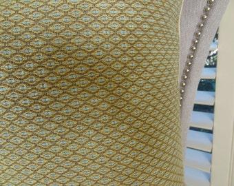 Modern Taupe Aqua Blue Diamond Throw Pillow Cover - Designer Neutral Geometric Throw Pillow - Decorative Designer Geometric Pillow - 11250