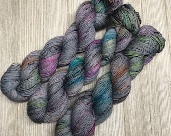 Knowhere - Sweet Sock - Indie Sock Yarn, Indie Dyed Yarn, Speckled Sock Yarn, Hand Dyed Yarn, Sock Yarn, Indie Speckled Yarn