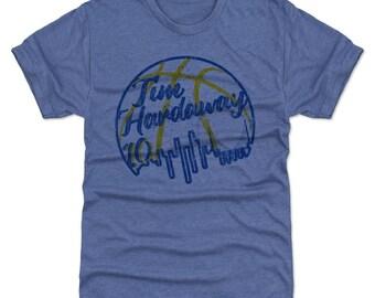Tim Hardaway Shirt | Golden State Throwbacks | Men's Premium T-Shirt | Tim Hardaway Skybasketball B