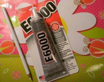 E6000 and Wax Pencil Rhinestone Picker Pencil 2 fl oz Industrial Strength Craft Adhesive DIY Deco Kit Decoden Supplies