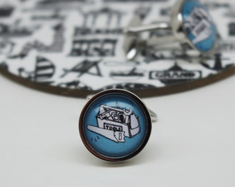Tool Box Cufflinks - DIY cufflinks - Gifts for him - Hobby cufflinks