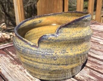 Wavy Rim Pot