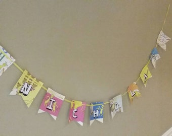Cancelled Custom Dr Suess Birthday Banner 50% Off.
