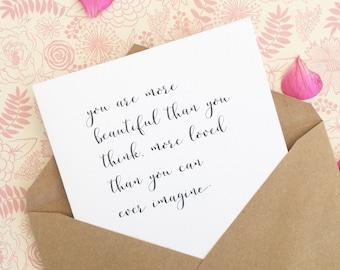 Sweet love card/Dear future wife/Dear future husband card/Wedding day card to fiance/Love note/ Anniversary card/Gf card/Bf card
