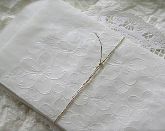25 Glassine Favor Bags, Cherry Blossoms