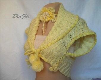 LIQUIDATION Stock SALE 30% OFF Hand Knitted Vest Shrug Jacket Romantic Cardigan Bolero Gift Feminine Women Accessories Pompoms Vests Crochet