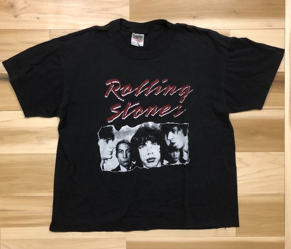 Rolling Stones 'Bad Boys of Rock N Roll' Graphic Tee Made in USA