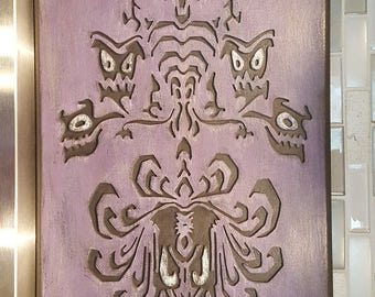 Disney Haunted Mansion Wall paper Silhouette wall hanger