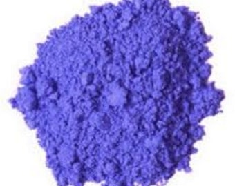 Periwinkle Ultramarine Blue Matte Pigment Powder Color Colorant and Craft Nail Polish Making Eye Shadow Coloring Crafts Colour CP Soap MP