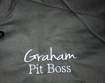 MONOGRAMMED Chef Jacket in any font
