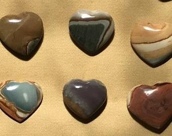 Polychrome Jasper Heart/ Jasper/ Take my Heart