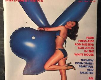 Playboy Magazine - July 1977