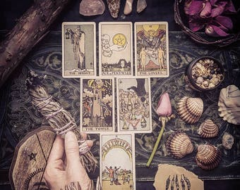 General | Tarot Reading | Artistic Photograph and PDF Included -Sent to your email | Loving | Personal | Intuitive | Psychic | Guidance