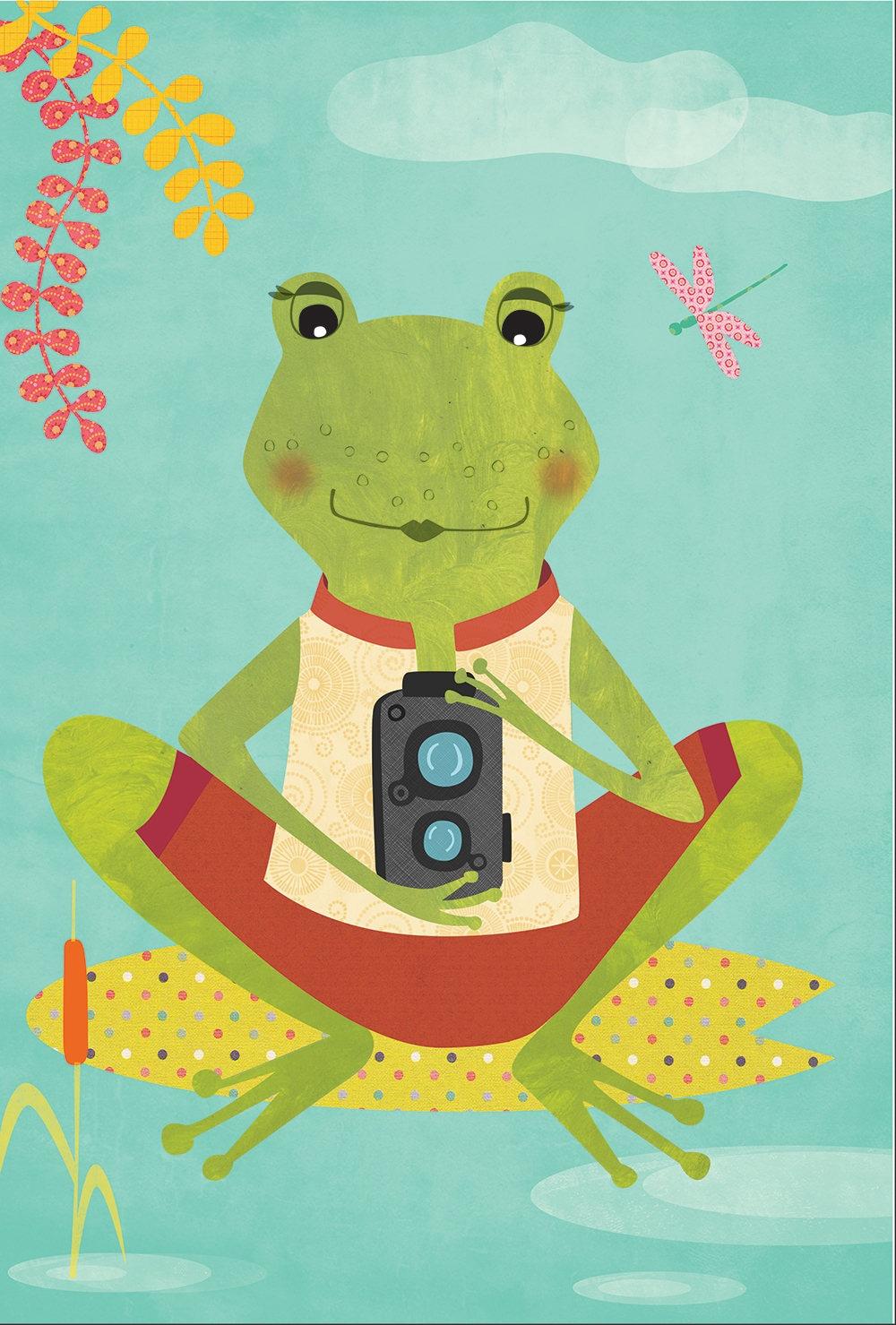 Cute Frog Wall Art Photos - The Wall Art Decorations - mypromoisrich.com