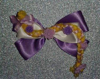 Disney Princess Rapunzel inspired hair bow