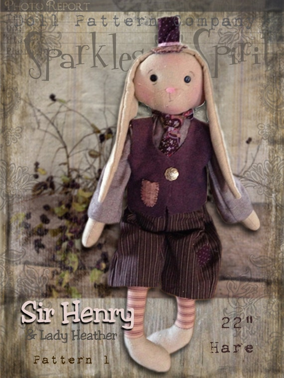 """Pattern: Sir Henry - 20"""" Hare"""