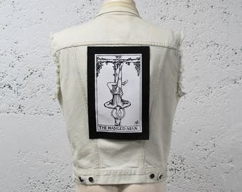 The Hanged Man Tarot Card Back Patch