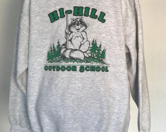 Vintage Raccoon Sweatshirt