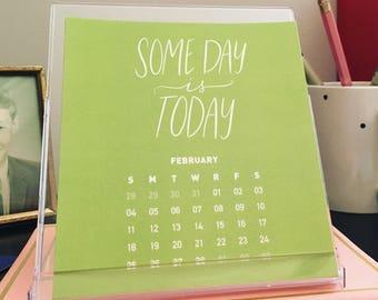 Calendrier de bureau 2018 - Get motivé. Être inspiré.