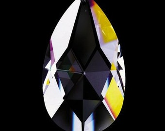 1 Clear 63mm Chandelier Crystal Prisms - Style VAS72 - Asfour FULL Lead Crystal (S-4)