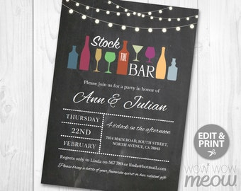 Stock the bar Etsy
