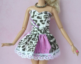Handmade dress for Barbie dolls