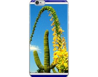 iPhone Case. Saguaro cactis