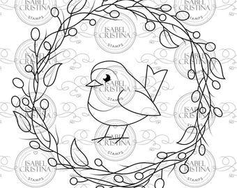 Robin - IsabelCristinaStamps