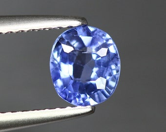 1.053ct Unique High End Earth Mine Certified Unheated Ceylon Royal Blue Sapphire
