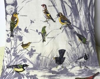 Vintage Irish Linen Tea Towel / Webbs Pure Irish Linens