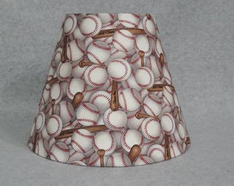 Wood lamp shade etsy baseball lamp shade aloadofball Images