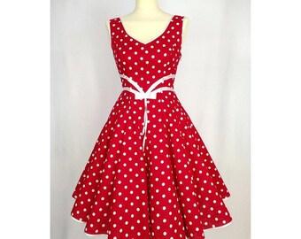 Black petticoat Dress Red