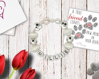 Personalized Pet Lover Name Bracelet