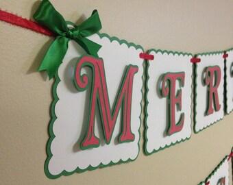 Merry Christmas banner, Christmas banner, Christmas decorations
