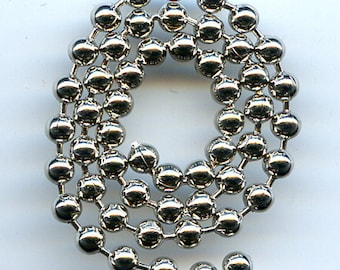 Ball Chain Steel 8 feet size 3.2mm