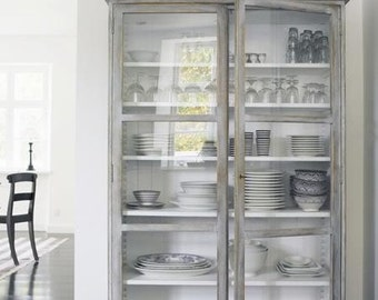 Custom Cabinet for Kitchen Storage or Display Hutch starting at