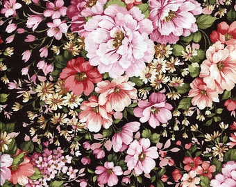 Conventry Pink Floral - Robert Kaufman - 1 yard - More Available - BTY