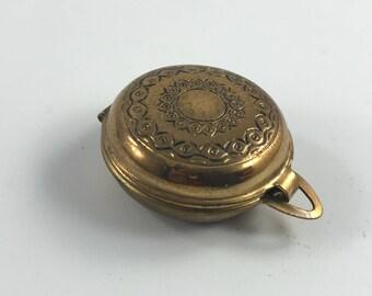 Vintage Small Goldtone Locket
