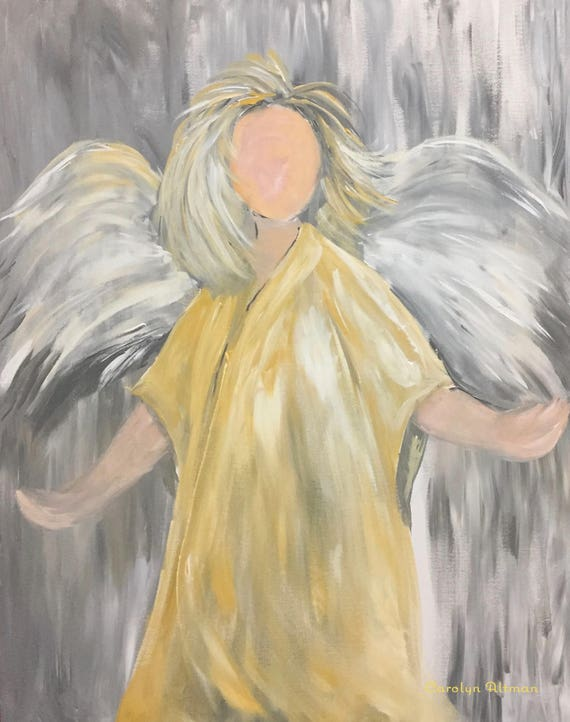 Brush of Angel Wings Art Prints and Note Cards
