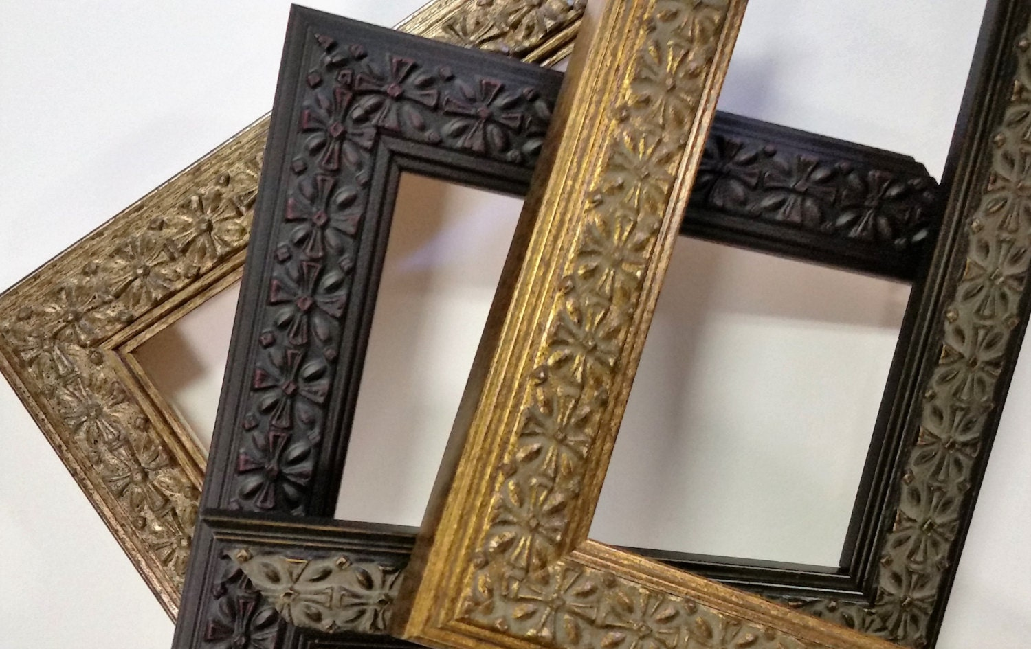 14 x 18 - 20 x 24 Wood Picture Frames, Ornate, Vintage, Traditional ...
