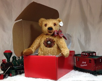 """17"""" Steiff Schulte Mohair Teddy Bear, Teddy Bears: Loving and Comforting-Perfect Gift for Adults of All Ages, Gift-Ready Box/Ready to Ship!"""
