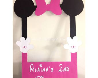 Minnie Mouse Photo Prop Frame