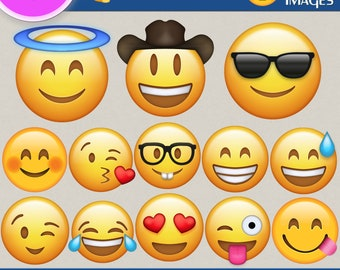 Emoji clipart, Emoji png, Emoji images, Smiley Face, emoji clip art, Emotions clipart, emoji smiley, Transparent Backgrounds, digital print