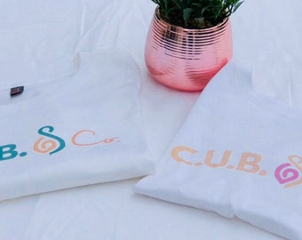 C.U.B. & Co.  Brand Mommy and Me Tee Set