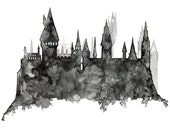 Hogwarts Painting - Print...