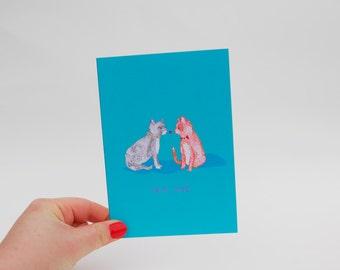 True Love - Greetings Card